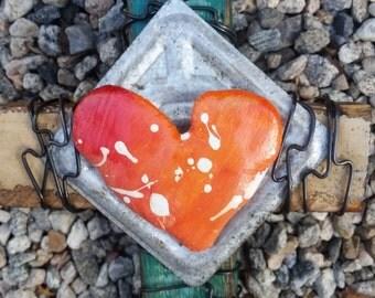 Pillow Heart cross