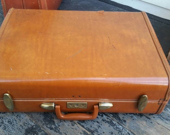 Vintage Samsonite Suitcase Luggage