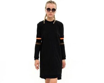 Handmade, Minimalist dress, Sweatshirt dress, Ethnic style, Winter Sweatshirt, long sleeves, winter 2017,