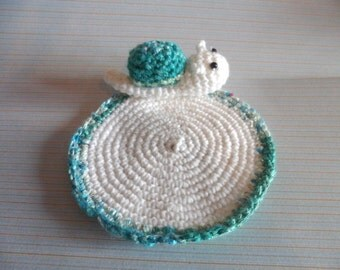 Crochet coaster snail, cute snail coaster, amigurumi coaster, children coaster, crochet amiugurmi, amigurumi snail coaster, crochet coaster