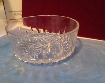 REDUCED  Arcoroc Crrystal Star Bowl from France