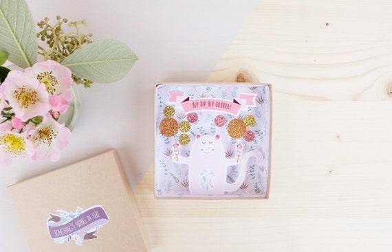 Congratulations message box - Cadeau mariage
