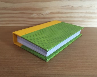 Pretty green and gold Bitty Book