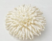 Celluloid Dahlia Flower Creamy White Old Vintage Costume Jewelry Brooch Pin on Etsy
