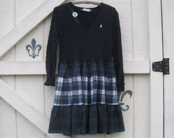 Reserved...... Navy hoodie dress, hooded sweater tunic, XS-S, rustic tunic dress, boho mini, hippie gypsy hoodie, Upcycled