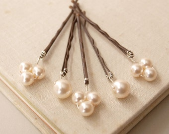 Bliss Pearl Hair Pins