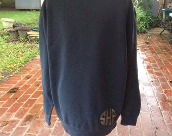 Monogram Comfort Colors  Oversized Sweatshirt