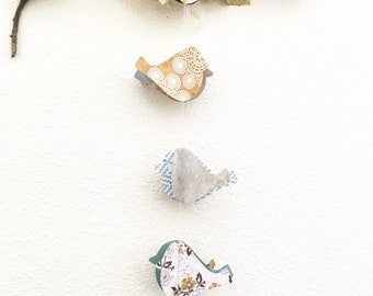 Paper Bird Garland Shabby Chic Paper Garland Party Garland Supply Celebration