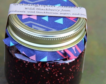Wild Blackberry Jam - 8oz
