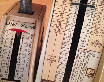 Vintage Scale Scales Diet Scale Mailing Parcel Postage Mixed Lot