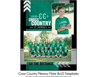 Cross country etsy for Memory cross template