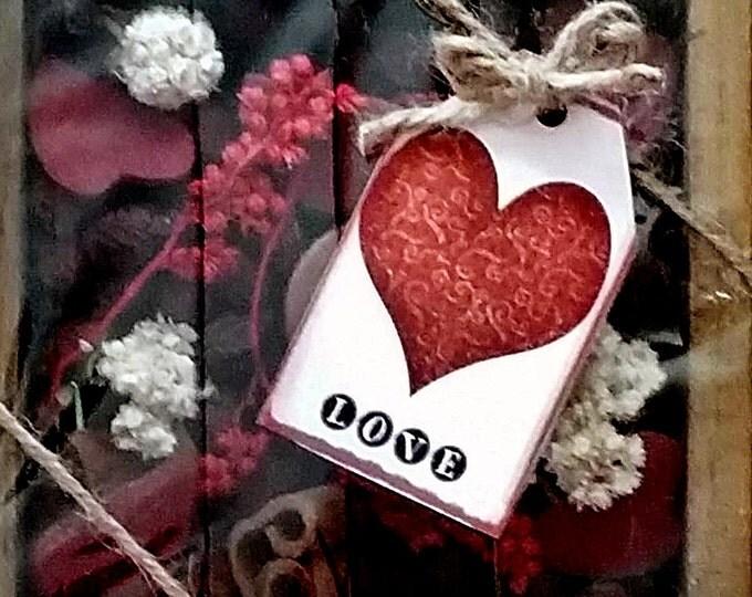 Featured listing image: Primitive potpourri  Valentine Box