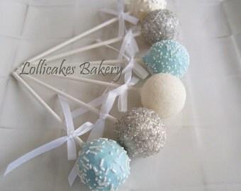 Baby Shower Favors: Baby Shower Cake Pops Made to Order, Baby Shower Dessert Table, Baby Shower Candy Buffet, 1 dozen