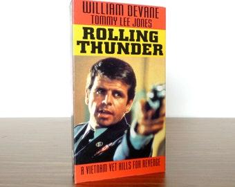 Rolling Thunder VHS Tommy Lee Jones 1993 Goodtimes Video Movie Tape