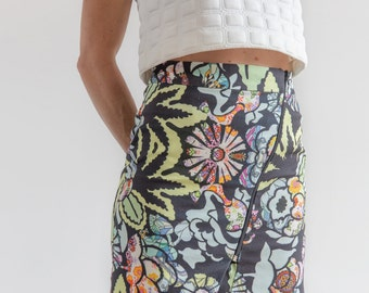 Pin Pegs Mini Skirt PDF sewing pattern.