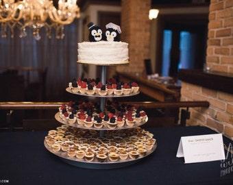 Needle Felted Penguin Cake Topper, Needle Felted Topper, Wedding Cake, Felt Animal, Penguin, Wedding Penguins, Wool - Patrick