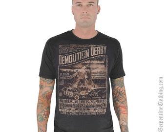 Demolition Derby Men's Tee