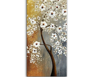 Autumn Story - landscape Abstract Art Giclee Print Home Wall Decor Paula Nizamas ready to hang