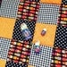 Baby Patchwork Quilt Playmat, Dolls, Dots, Floral and Gingham