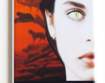 Cat People (1982) Movie Poster Fridge Magnet (1.5 x 4.5 inches)
