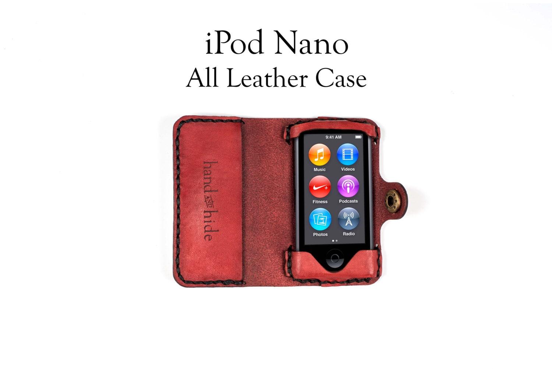ipod nano 7th generation all leather case ipad nano leather. Black Bedroom Furniture Sets. Home Design Ideas