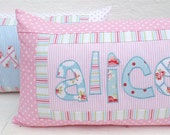 Shabby Chic Name Pillow Cover -The Sweetest Thing - Personalized Girl Room Dorm Decor Graduation  Birthday Gift Keepsake Custom Made, Spring