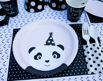 Party Like a Panda- Table Runner/Backdrop Paper