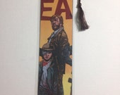 Upcycled The Walking Dead Comic Book Bookmark