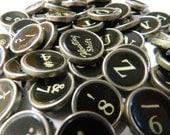 Vintage Smith Corona Clipper Typewriter Keys Antique Full Set 47 Keys