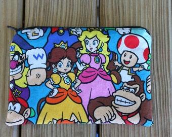 Reusable Snack Bag, Nintendo - ZIPPER Snack Bag