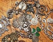 VINTAGE ESTATE LOT Sterling Necklace Pendants