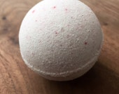Lavender Bath Bomb.  Essential Oils.  Hand crafted.  Spa.  Aromatherapy.  Bath time.  On a Branch Soaps