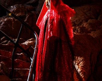 Blood Bride Halloween Cape