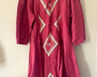 Vintage india Dress girls 9/10