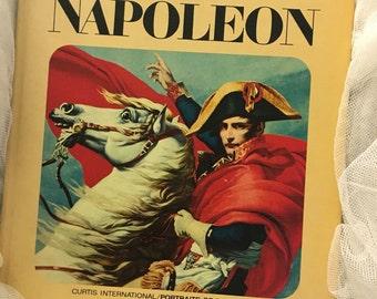 Vintage book history of Napoleon, Napoleon history book