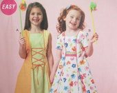 McCalls 6876--Easy Girls Boutique Style Dresses-Sizes 2-5