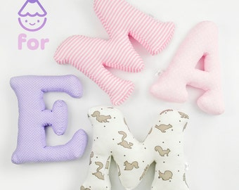 personalized 3D decor, letters for Emma