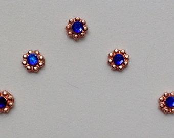 Heliotrope & Bright Copper Accent Bindis