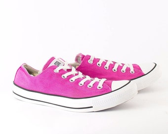 Vintage 1990's Converse All Star Lo Trainers Women's UK 8 EU 41.5 US 10