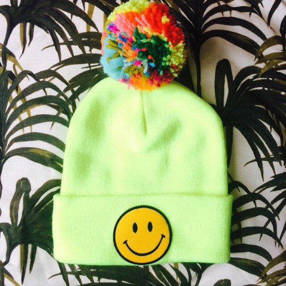 RAVE Kids Hat Beanie Childrens Cap with Pom Pom in Acrylic One Size Unisex
