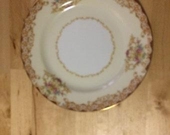 """Noritake Rosebud 6002 6 3/8"""" Bread & Butter Plate"""