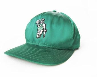 vintage baseball hat / Boston Celtics / NBA / snapback / 1990s Boston Celtics snapback cap