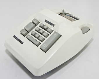 Vintage Sears Adding Machine, Sears 8/9 Adding Machine, Vintage Office