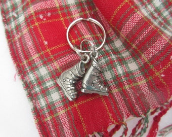 Ski Boots Keychain- Skiing Gifts for Skiers