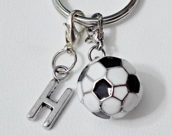 3D SOCCER BALL ENAMEL  Keychain Monogram keychain, Personalized keychain  /R1