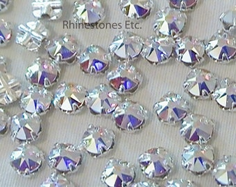 Crystal AB 16ss Swarovski Rose Montee 36 pieces