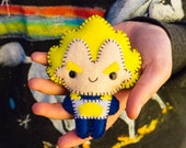 Felt Vegeta - Pocket Plush Toy