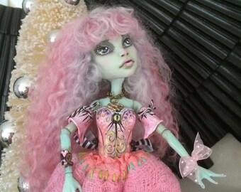 Monster High Doll Repaint Reroot