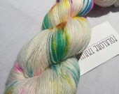 Superwash Merino Sock- Unicorn Farts