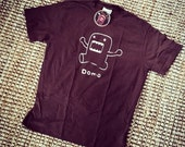 Brown Men's Offically Licensed Domo Shirt